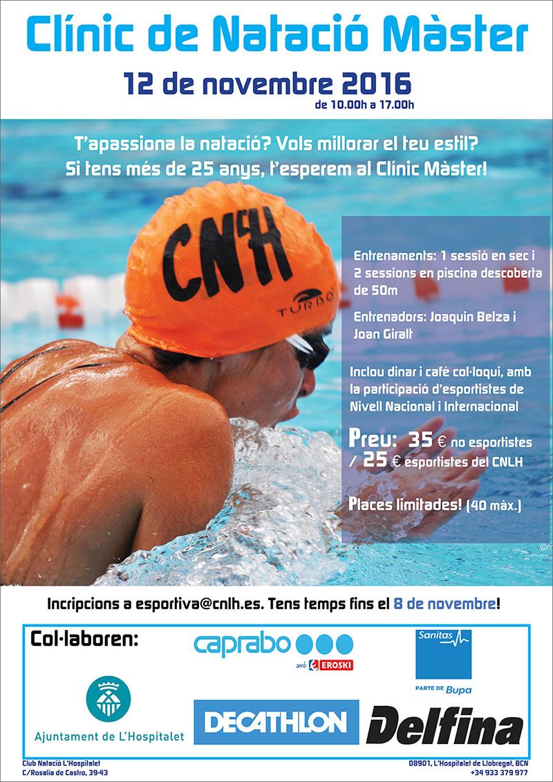 clinic de natació màster novembre 2016