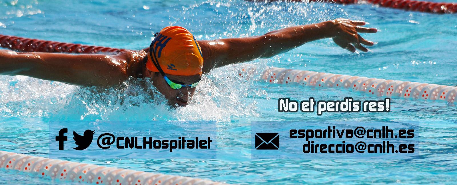 Club Natació L'Hospitalet: Contacte