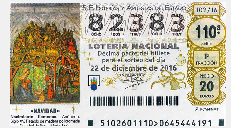 Loteria Nadal 2016 cnlh