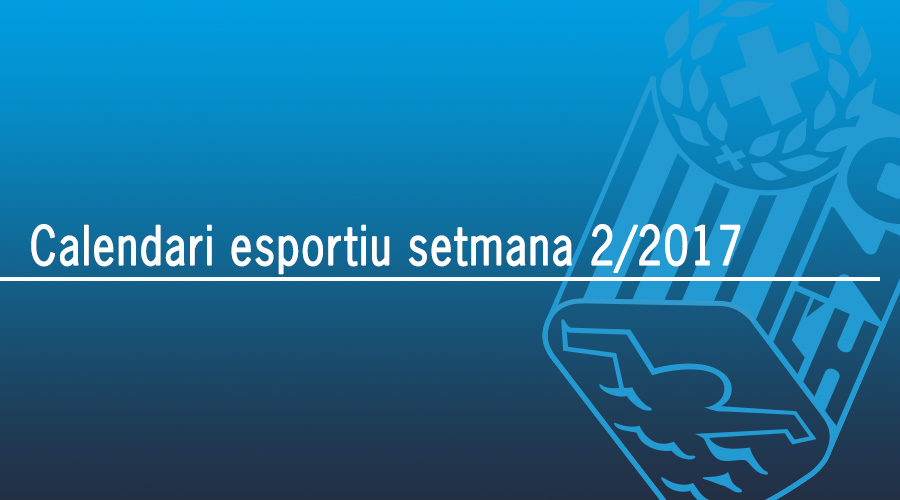 calendari esportiu setmana 2 2017