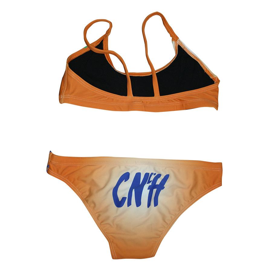 Bikini femeni taronja darrera CNLH