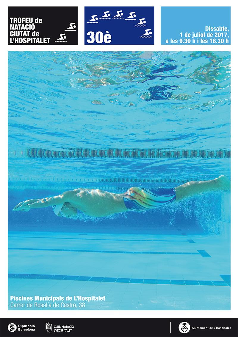 cartell 30 trofeu natacio ciutat hospitalet 2017