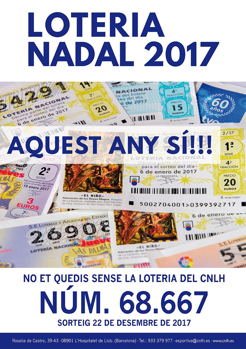 loteria nadal cnlh 2017