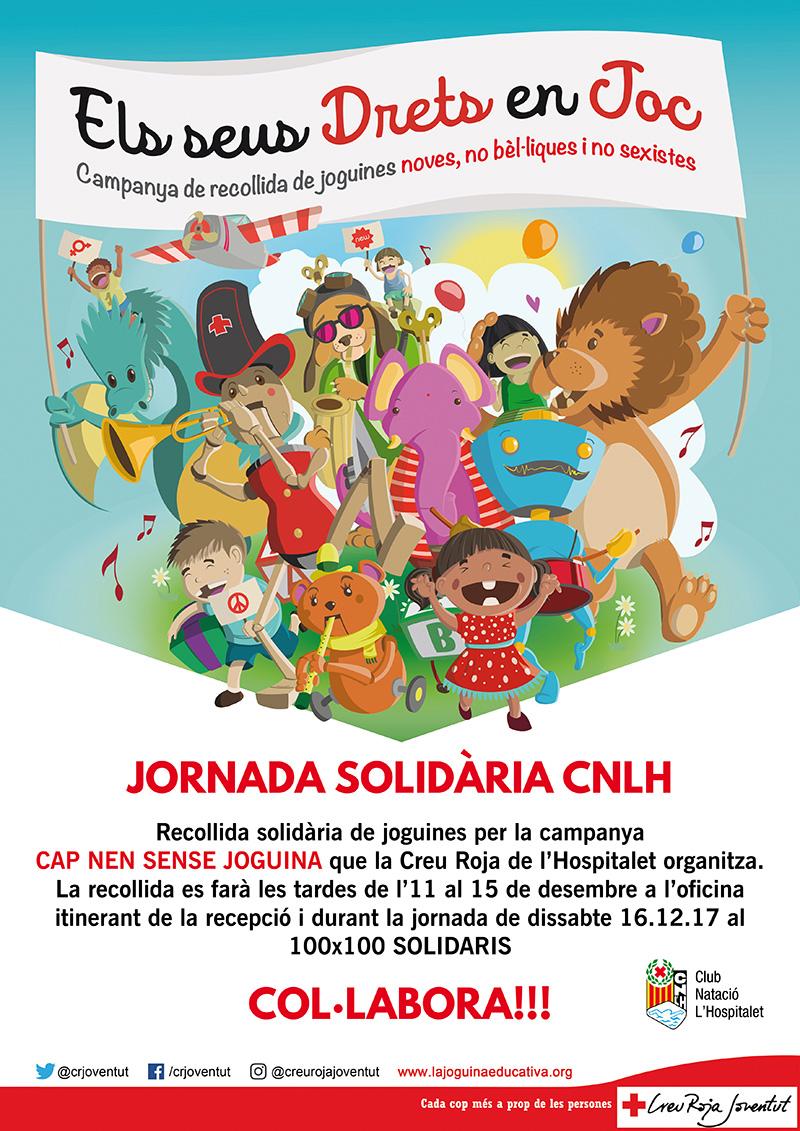 recollida solidaria joguines cnlh 2017