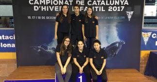campionat catalunya natacio hivern infantil cnlh 2017