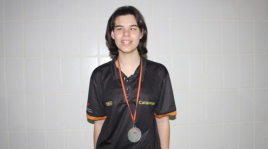 angela gonzalez medalla plata natacio adaptada 200 lliures campionat espanya ccaa cnlh 2018