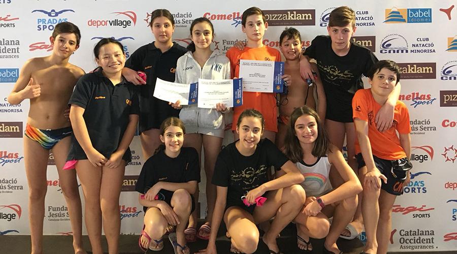campionat catalunya natacio hivern alevi cnlh 2018