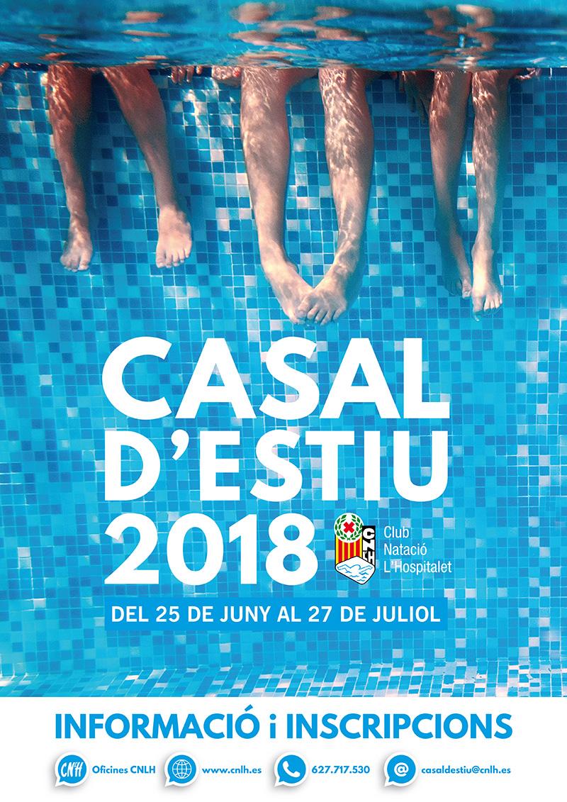 poster casal de estiu cnlh 2018