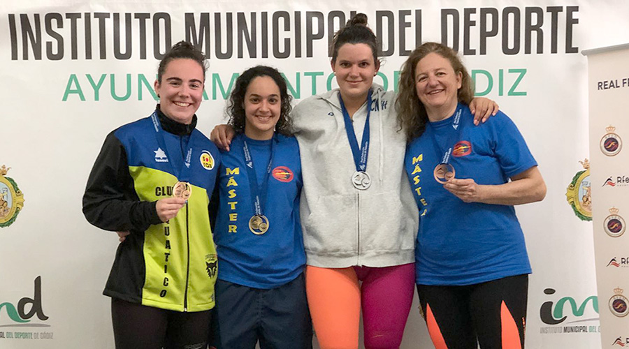 sonia arroyo campionat espanya open master fondo 2018