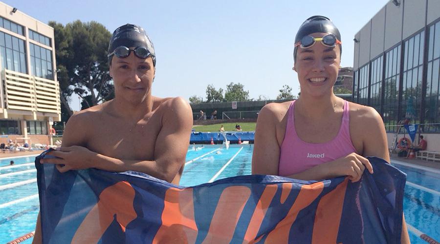 alex sanchez i celia rodriguez campionat espanya natacio junior absolut estiu 2018