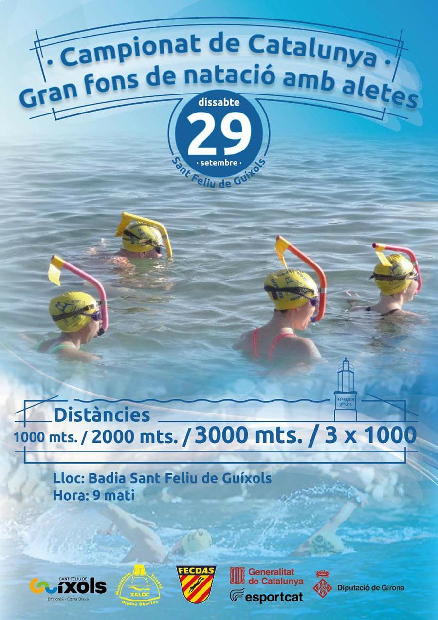 poster campionat catalunya gran fons natacio aletes cnlh 2018