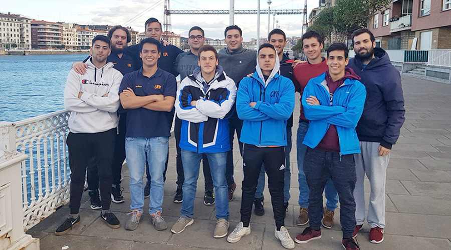 equip absolut waterpolo portugalete cnlh 2018