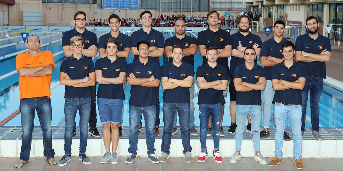 equip waterpolo absolut cnlh 2018-2019