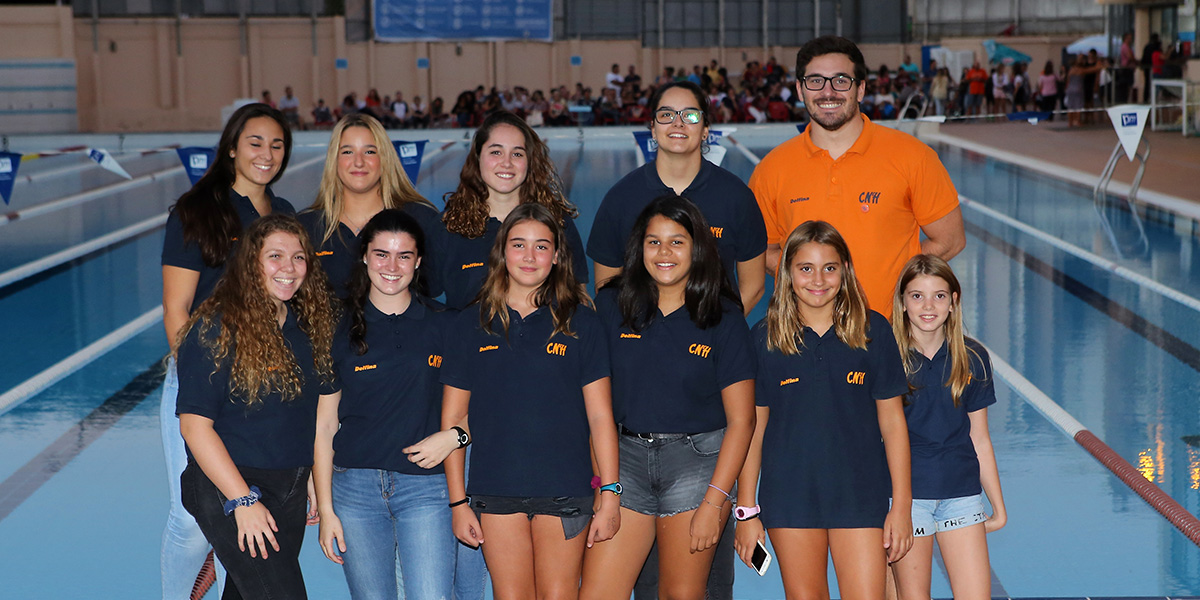 equip waterpolo femeni cnlh 2018-2019