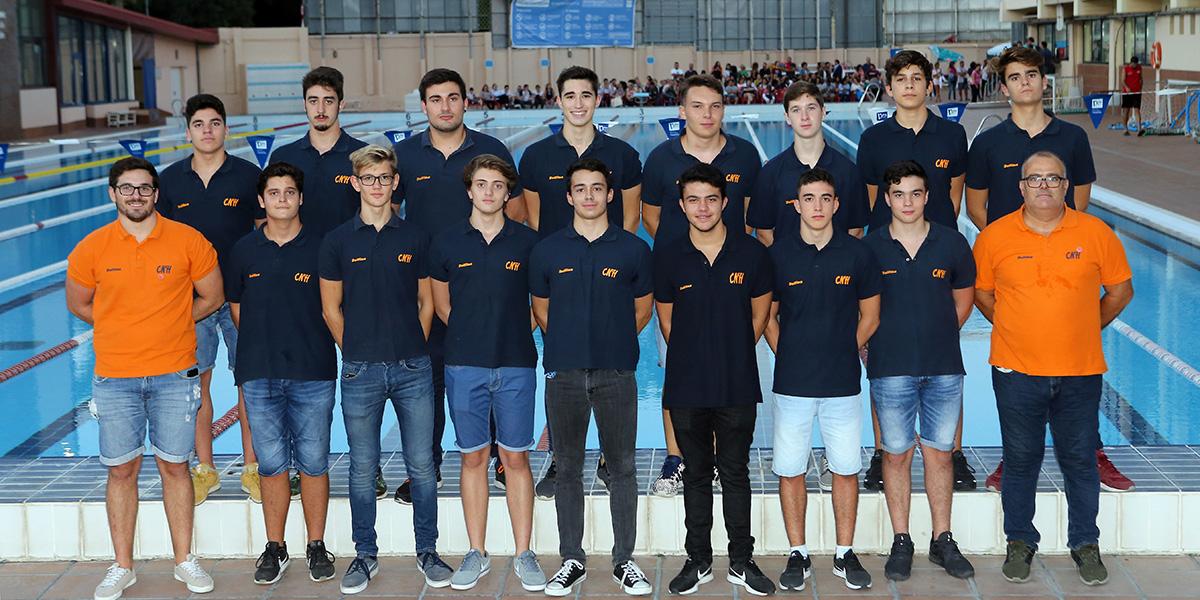 equip waterpolo juvenil cnlh 2018-2019
