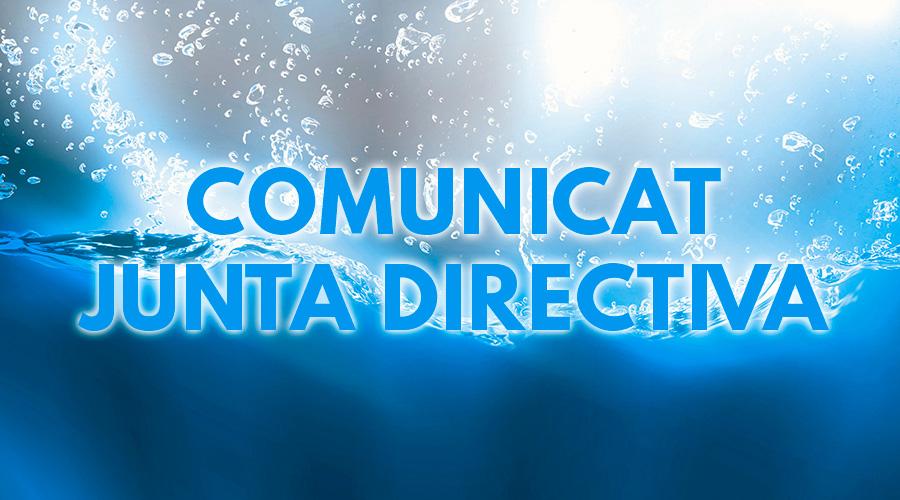 comunicat junta directiva cnlh 31-01-2019