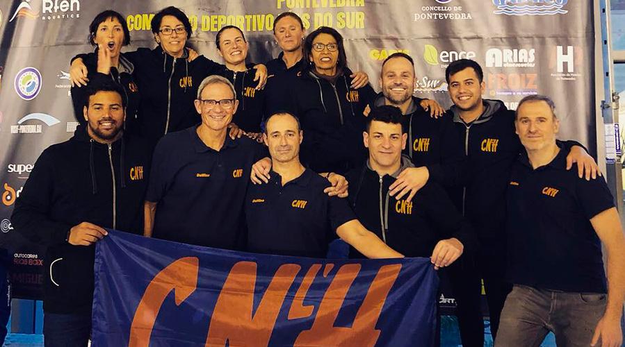 campionat espanya master natacio hivern cnlh 2019