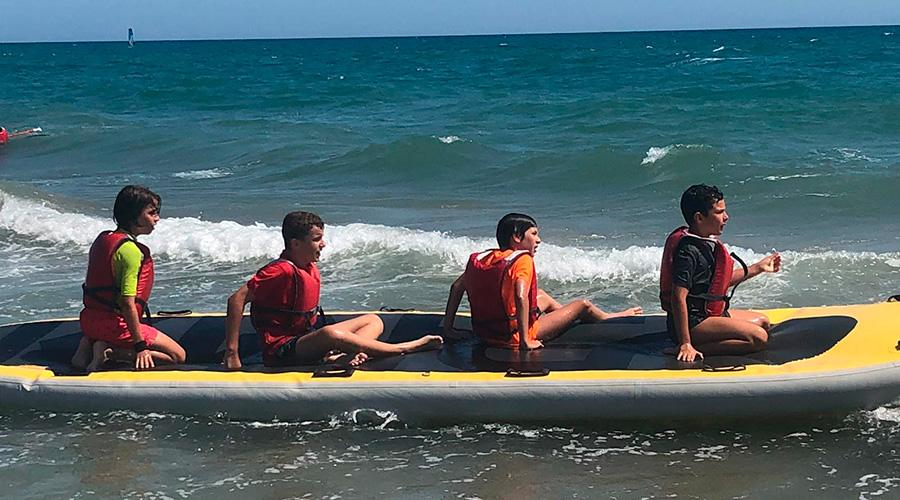 sortida club maritim castelldefels casal de estiu cnlh 2019
