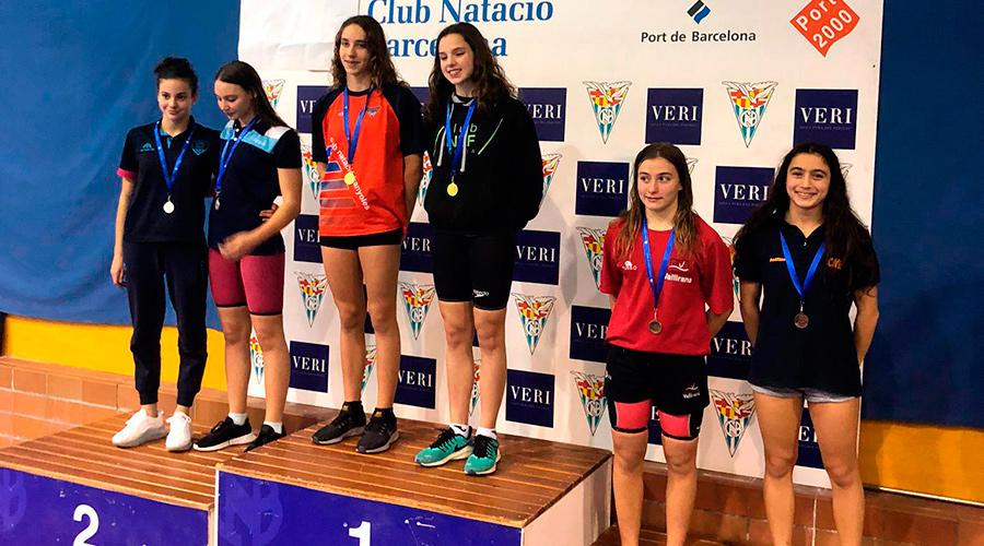 campionat catalunya natacio hivern 2019 infantil i junior cnlh
