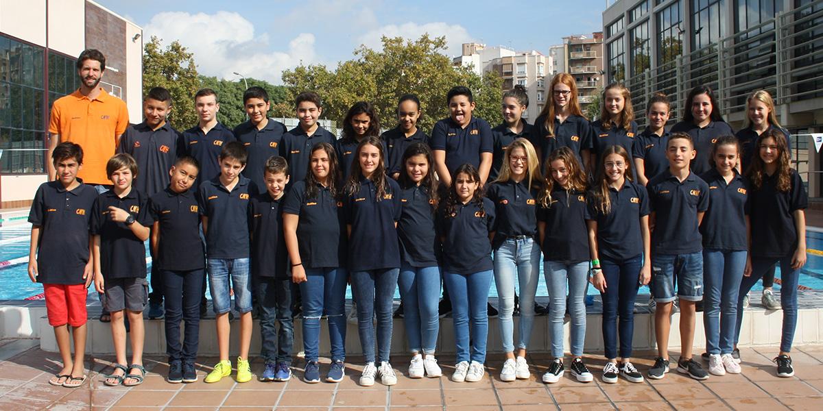 equip natacio alevi temporada 2019 2020