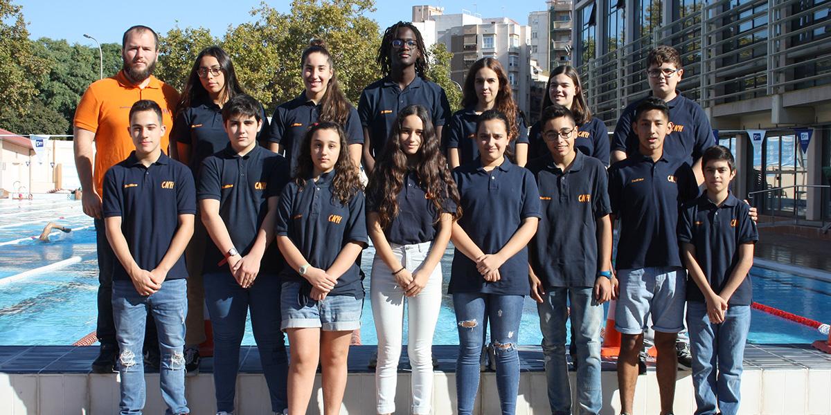 equip natacio social training temporada 2019 2020