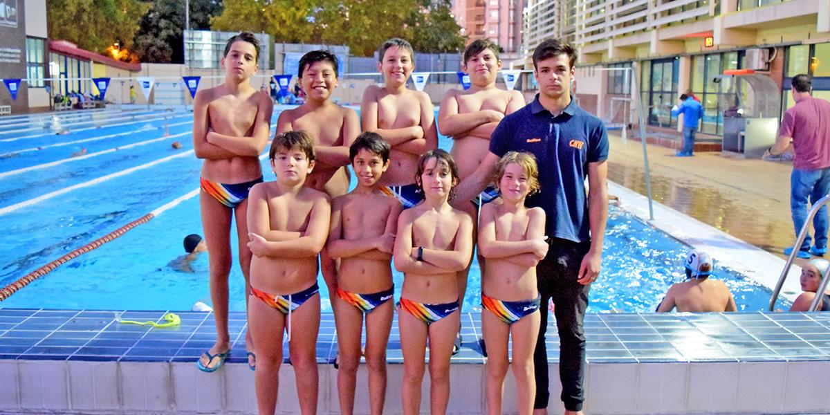 equip waterpolo alevi benjami temporada 2019 2020