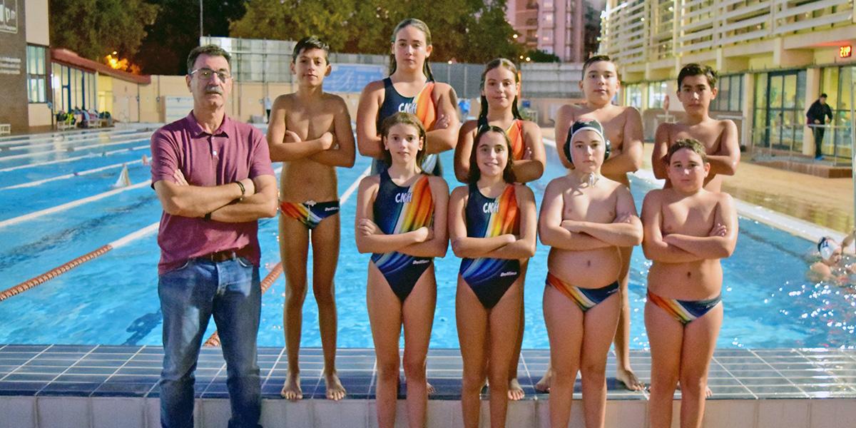 equip waterpolo infantil temporada 2019 2020