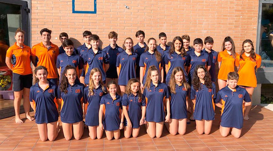 campionat catalunya hivern natacio aletes infantil cadet 2020 cnlh