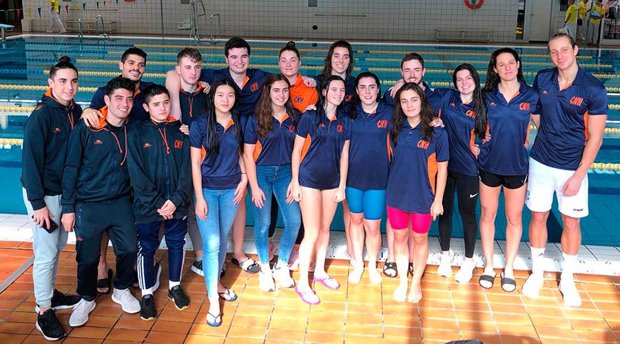 campionat catalunya hivern natacio aletes junior senior 2020 cnlh