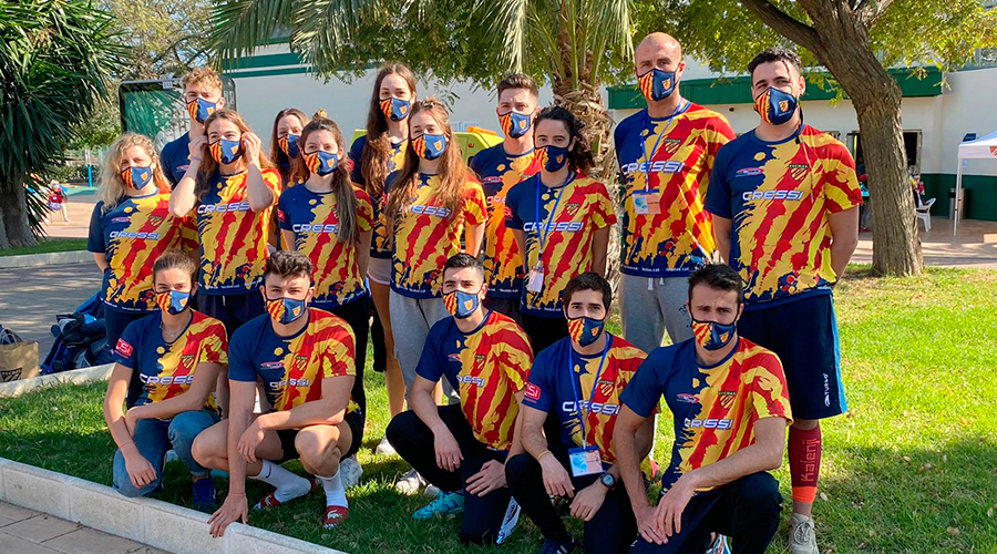 XXVII campionat espanya per ccaa aletes anna arino cnlh