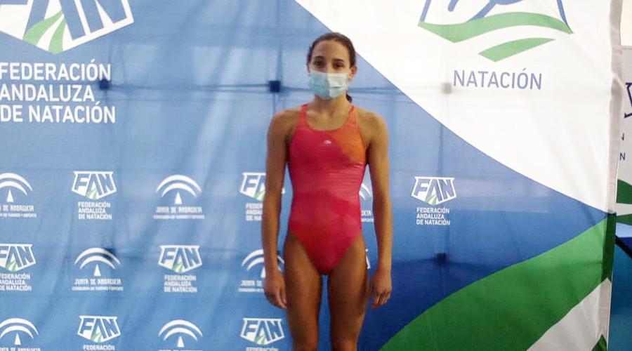 celia monforte xl campionat espanya natacio infantil hivern