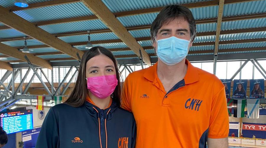XXI Campionat d'Espanya de Natació Absolut i Júnior 2021 Paula Grau