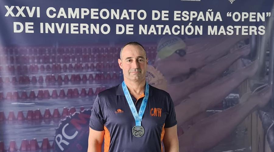Adolfo Ortiz Campionat Espanya Master Hivern cnlh 2021
