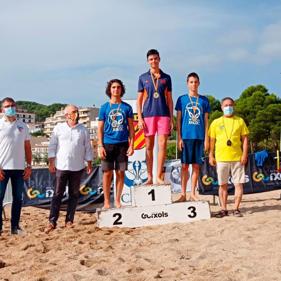 campionat de catalunya gran fons natació amb aletes 2021